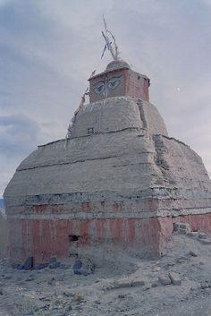 Buddhist monument Tibet