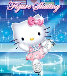 Hello Kitty. & skating... two of my guilty pleasures.