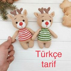 Handmade Toys For Kids Tutorials Crochet Motifs, Crochet Toys, Crochet Patterns, Natal Diy, Amigurumi Toys, Handmade Toys, Kids Toys, Diy And Crafts, Dolls
