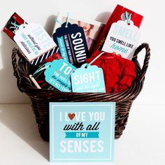 Surprise your spouse with our new creative 5 Senses Gift! This kit will help you create an inexpensive, unique and thoughtful gift that your love will adore!