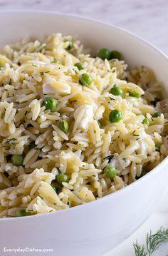 Lemon orzo salad recipe                                                                                                                                                      More