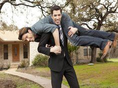 Brotherly Brawl - HGTV's Property Brothers Bring the Fun to Home Reno on HGTV