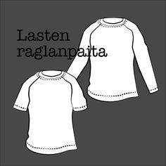 Sew a kids' shirt with this free pattern (sizes Published by Kangaskapina. Childrens Sewing Patterns, Free Pattern, Sleeves, Shirts, Kids, Young Children, Boys, Sewing Patterns Free, Children