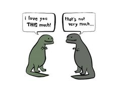 Dinosaurs can be so rude ...lol