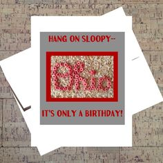 Ohio State Card Buckeye Card Funny Birthday Card by WhatACardCards