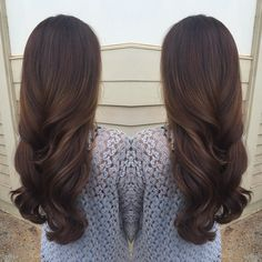 Gorgeous long brunette hair
