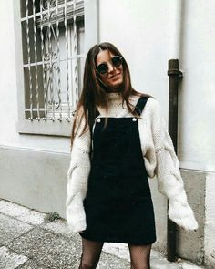 🍒 pinterest: sonerrast // instagram: debbiearellano 🍒 Hipster Outfits Winter, Winter Dress Outfits, Fall Dresses, Winter Hipster, Winter Outfits Women, Casual Winter, Casual Summer, Winter Style, Summer Outfits