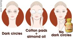 almond oil is excellent because it is rich in nourishing vitamins and minerals. and rejuvenates the skin under the eye