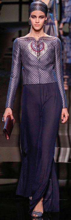Georgio Armani Prive Couture S/S 2014  | The House of Beccaria