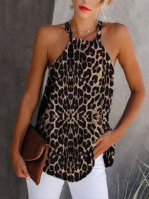 SKU Brand Name Milaioshop Collar type A collar Material Blended Occasion Casual Pattern Type Leopard Style Fashion Cl Blouse Patterns, Blouse Designs, Mode Outfits, Casual Outfits, Look Fashion, Womens Fashion, Ladies Fashion, Mode Jeans, Leopard Fashion