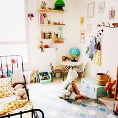 Une chambre d'enfant pétillante
