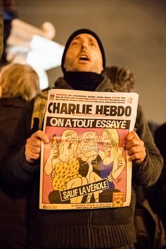 JE SUIS CHARLIE, NOUS SOMMES TOUS CHARLIE  11/01/2015 Marche Républicaine Paris / France  by Sandie Besso Photography for any booking, professional & artistic shootings contact me : sandie.besso@gmail.com Paris / France