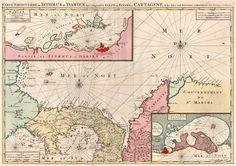 Carte Particuliere de Isthmus ou Darien qui Comprend le Golfe de Panama &c. Cartagena, et les Isles aux Environs ... - Jaillot - Covens & Mortier, 1710