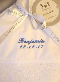 Baptism Gifts, Christening Gifts, Name Embroidery, Baby Towel, Love Messages, First Names, Save Yourself, Sweden, Unique Gifts