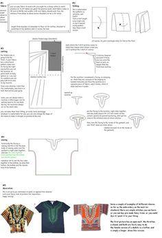 Dashiki Shirt Pattern More