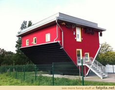 Upside down house...'