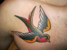 Sparrow Bird Tattoo Meaning