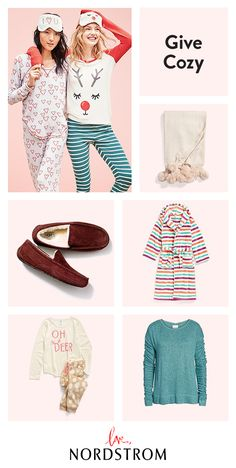 You can't go wrong with the gift of cozy. Pompom throws, shearling-lined slippers and festive holiday pajamas make the perfect gifts for her. Discover top finds for everyone on your list at Nordstrom.
