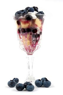 Blueberry  Muffin Trifle