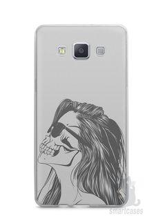 Capa Capinha Samsung A7 2015 Mulher Caveira - SmartCases - Acessórios para celulares e tablets :)