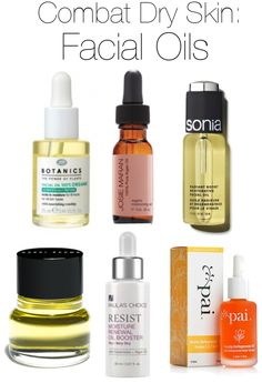 The best facial oils to try.   (and The Difference Between Dry and Dehydrated Skin)