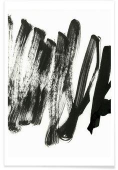 Black On White en Affiche premium par Iris Lehnhardt   JUNIQE