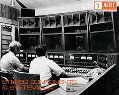 "ALTEC 1970 - ""Yeaah...this is audio control...aaah we copy Altec...aaah...we DO have sound, aaah...over..."""