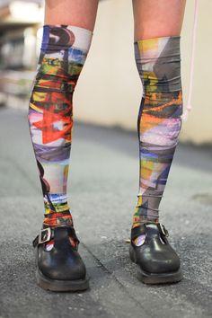 Graffiti socks