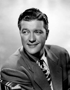 Dennis Morgan, one of the actors from the 30s and 40s who was more appealing in live action than could be seen in photo stills. He's a great straight man, mostly bc he can deliver comeback lines with a disingenuous air that makes the moment funnier. In real life, when he stopped acting, he was an astute businessman who spearheaded the creation of a local park so low-income kids would have a place to just play.