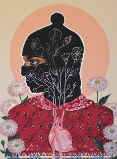 Ramona Acrylic on wood Art Pop, Arte Latina, Different Drawing Styles, Mexican Artwork, Arte Punk, Propaganda Art, Chicano Art, Chicano Tattoos, Political Art