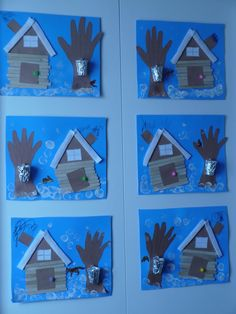 DIY sugar shack (credit Carole) ☘️ Visit your store of ar . Preschool Arts And Crafts, Kindergarten Activities, Classroom Activities, Preschool Activities, Crafts For Kids, Classroom Ideas, Daycare Themes, Sugar Bush, Projects To Try