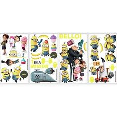 Peel & Stick Wall Decals - Despicable Me 2