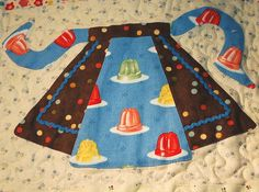 Jello Apron by pipersquilts, via Flickr