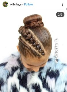 Natural Hairstyles For Kids, Little Girl Hairstyles, Natural Hair Styles, Long Hair Styles, Baddie Hairstyles, Braided Hairstyles, Competition Hair, Toddler Hair, Braids For Long Hair
