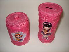 como aplicar a decoupage na lata de nescau? - Pesquisa Google