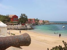 Ile de Gorée = best place to find authentic African trade beads if you know how to haggle