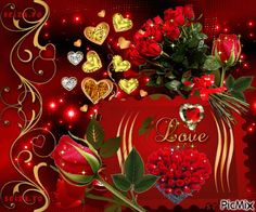 To my dear Joe ❤Love you Beautiful Love Pictures, Beautiful Gif, Love Images, Beautiful Roses, Flowers Gif, Love Flowers, Valentines Greetings, Happy Valentines Day