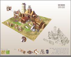 GGSCHOOL, Artist 사선주, Student Portfolio for game, 2D Scene Concept Art, www.ggschool.co.kr