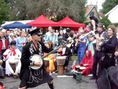 Captain Banjo's Street Band rocking Pilton Festival fundraising for children's hospice, North Devon