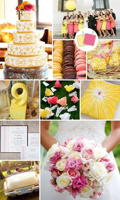 There are certain colors that we all know match: black and white, blue and silver or purple and gold. But those aren't your only options for your wedding. Unexpected combos like tangerine and wasabi are pretty, new and totally original.