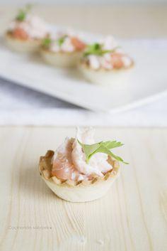 Cocinando sabores: Recetas de navidad: Paté de salmón ahumado