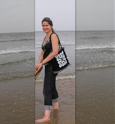 LiliAnna / Háčkovaná kabelka s čipkou