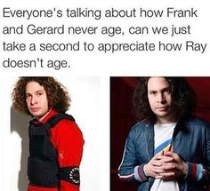 MCR is immortal pass it on