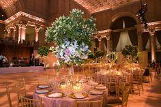 Elegant Tree Centerpiece    Photography: Images by Berit, Inc.   Read More:  http://www.insideweddings.com/weddings/romantic-garden-inspired-summer-wedding-in-new-york-city/574/