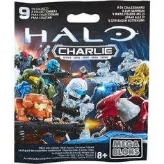 One Random Pack Supplied 8 TO COLLECT *RARE*BY HALO Mega Bloks Halo Delta Series