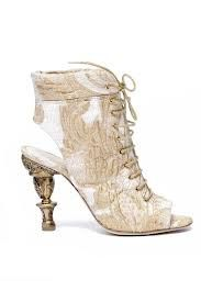 chanel boots white with beige