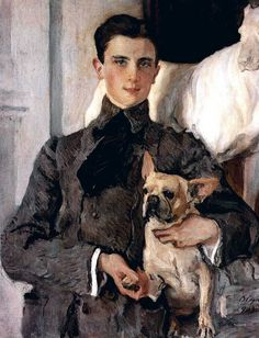 Portrait of Count Felix Sumarokov-Elston by Valentin Serov. Prince Felix Yusupov Russian aristocrat, best known for participating in the assassination of Grigori Rasputin. Artist Painting, Painting & Drawing, Painting Videos, Beauty In Art, Male Beauty, Pierre Auguste Renoir, Oil Painting Reproductions, Dog Paintings, Russian Art