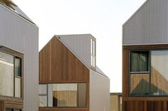 Dormer and cladding at Housing scheme by s333 Architecture.