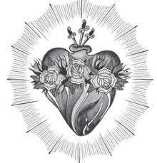 Risultati immagini per sacred heart of jesus tattoo