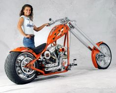 Harley Davidson Custom Chopper